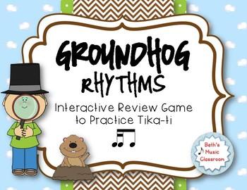 Groundhog Rhythms! An Interactive Rhythm Game - Practice Tika-ti