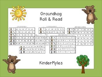 Groundhog Roll & Read