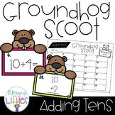 Groundhog Scoot {Adding Tens}