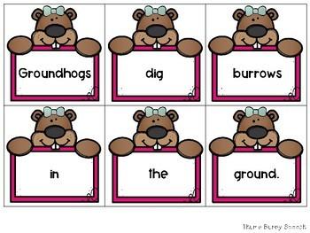 Groundhog Sentence Scramble