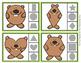 Groundhog Shapes Clip Cards