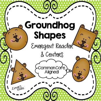 Groundhog Shapes Emergent Reader & Centers