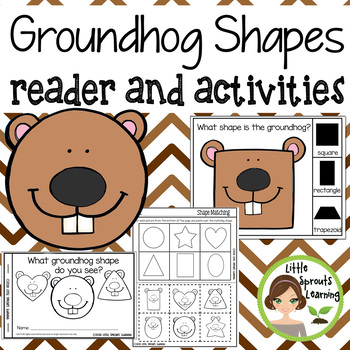 Groundhog Shapes Emergent Reader and Shape Recognition Activities