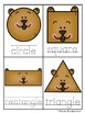 Groundhog Shapes Write / Stamp the Room Activity Pack