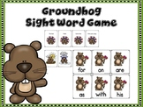 Groundhog Sight Word Game