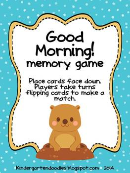 Groundhog Sight Word Games & Write the Room
