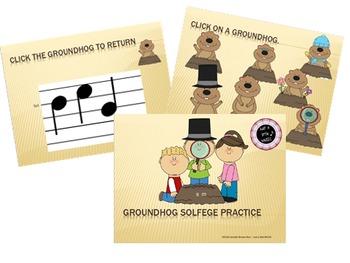 Groundhog Solfege Reading BUNDLE