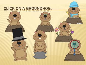 Groundhog Solfege Reading Practice {re}