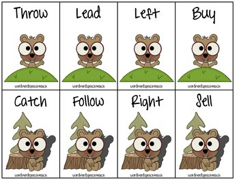 Groundhog Synonyms, Antonyms, Multiple Meaning Words, and Homophones
