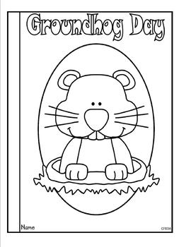 Groundhog Day Tab Booklet
