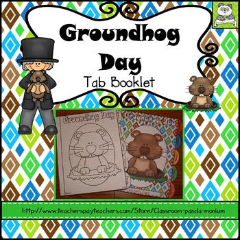 Groundhog Day Tab Booklet