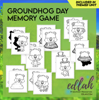 Groundhog Themed Memory Game