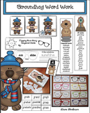 Groundhog-Themed Word Work Activities: GR Blend, Compound Words, Tongue Twisters