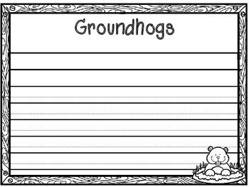 Groundhogs True and False Pocket Chart Activity