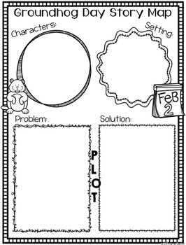 Groundhog Unit {Math, ELA, and Writing Activities including a PowerPoint}