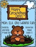 Groundhog Unit | Math, ELA, and Writing Activities including a PowerPoint