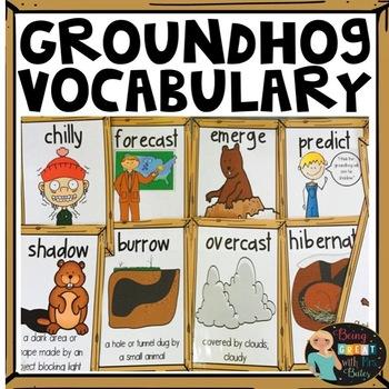 Groundhog Vocabulary Posters