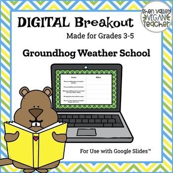 Digital Breakout Escape Room - Groundhog Day Digital Breakout