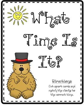 Groundhog: What Time Is It?