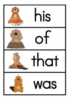 Groundhog Write the Room
