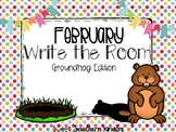 Groundhog Day Write the Room Activities Groundhog Day Febr