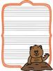 Groundhog Writing Paper