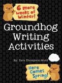 Groundhog Writing Scaffold