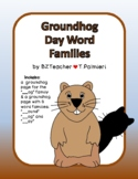 """Groundhog """"""""__og"""" Word Family Flip activity"""