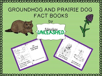 Groundhog and Prairie Dog Fact Books - Easy Readers