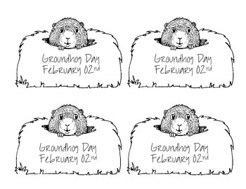 Groundhog day Dia de la Marmota