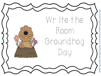 Groundhog day Write the Room, February