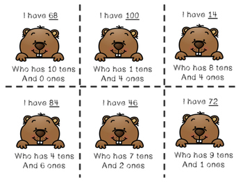 Groundhog days tens and ones I have who has