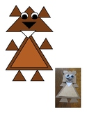Groundhog made of triangles