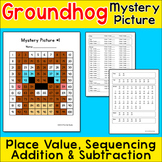 Groundhog Day Math Hundreds Chart Mystery Picture