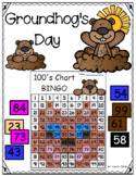 Groundhog's Day 100's Chart BINGO ~ Mystery Picture