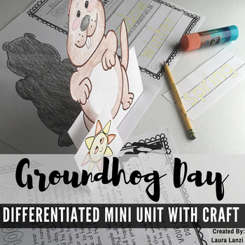 Groundhog Day Mini Unit with Craft
