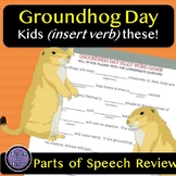 Groundhog Day Silly Word Game
