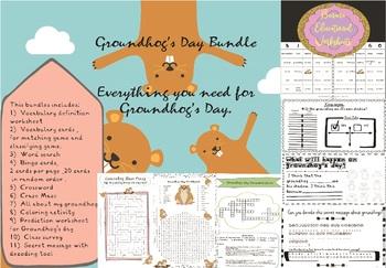 Groundhog's Day Bundle ... Everything you need for Groundhog's Day.
