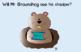 Groundhog's Day CVC Power Point Word Activity