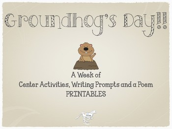 Groundhog's Day Centers and Activities