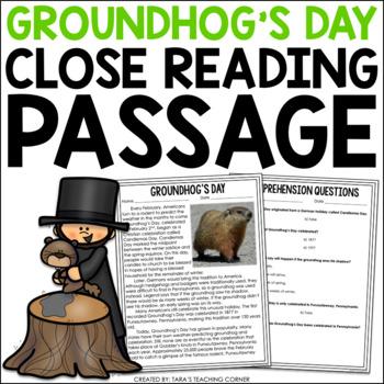 Groundhog's Day Comprehension Passage