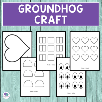 Groundhog's Day Craft