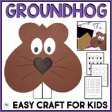 Groundhog's Day Craft
