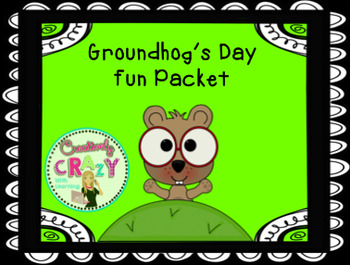 Groundhog's Day Fun Packet
