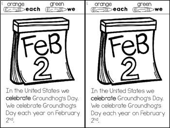 Groundhog's Day - Interactive Reader