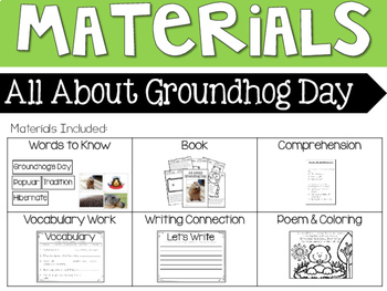 Groundhog's Day - Interactive Reader