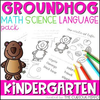 Groundhog's Day Kindergarten Pack
