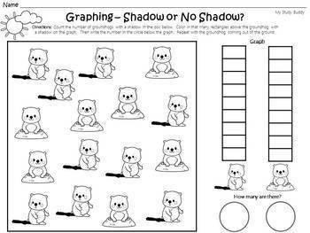 Groundhog's Day Math (Kindergarten)