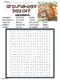 Groundhog's Day Off Word Search