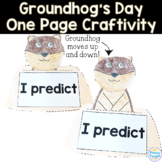 Groundhog's Day: One Page Craftivity